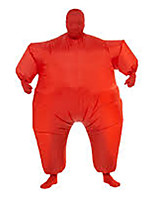 Costume Inflatable Full Body Suit Inflatable Costume Teen Chub Suit Full Body Jumpsuit Costume Masked Man Adult Large Red Color