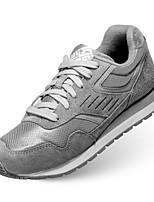 Men's Sneakers Spring Comfort Tulle Casual Gray Dark Blue Black