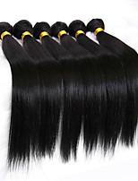 Человека ткет Волосы Перуанские волосы Прямые 18 месяцев волосы ткет