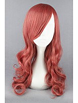 Demi finale fantasy13-eclairfarron rose mixte bouclés 26inch anime cosplay perruques cs-173a