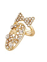 Ring Euramerican Personalized Rhinestone Zinc Alloy Jewelry For Wedding Party Special Occasion 1pc