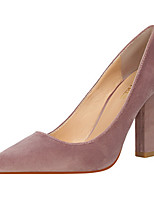 Heels Spring Summer Fall Comfort Leatherette Office & Career Party & Evening Dress Chunky Heel