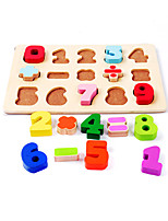 Jigsaw Puzzles Wooden Puzzles Building Blocks DIY Toys Square Wood Leisure Hobby
