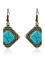 Women's Earrings Set Basic Geometric Vintage Turquoise Alloy Jewelry For Birthday Gift Casual Evening Party Club