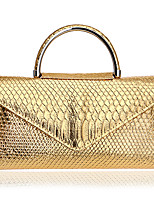 L.WEST Woman's  PU Formal Casual Event/Party Wedding Office & Career Evening Bag Summer Winter All Seasons Spring Fall
