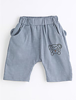 Boys' Casual/Daily Solid Pants-Cotton Summer