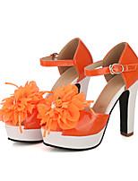 Femme-Décontracté--Talon Aiguille-D'Orsay & Deux Pièces-Chaussures à Talons-Polyuréthane