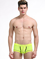 Sexy Push-Up Solid Shaping Panties Boxers Underwear,Cotton Nylon