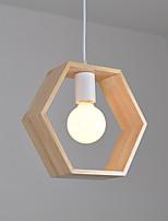 Luzes Pingente ,  Contemprâneo Rústico Outros Característica for LED Madeira/BambuSala de Estar Quarto Sala de Jantar Cozinha Quarto de