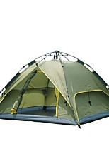 3-4 persons Double One Room Camping Tent