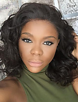 Hot Sale!! Short Bob Full Lace Wig Wave 100% Brazilian Virgin Hair Full Lace Human Hair Wigs For Beautiful Woman With Baby Hair
