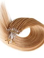 Extensões micro do cabelo humano do laço 18 extensões remy retas remy do estilo do cabelo humano do estilo 0.5g / s micro extensões 100s /