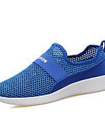 Красный Зеленый Тёмно-синий-Для мужчин-Повседневный-ПолиуретанУдобная обувь-Мокасины и Свитер