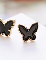 Lovely Modelling Contracted Joker Small Butterfly Rarrings Earrings