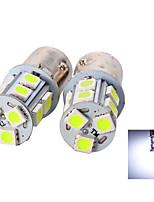 2Pcs 1156 13*5050SMD LED Car Light Bulb White Light DC12V
