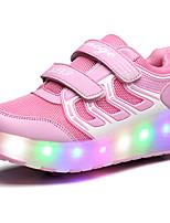 -Девочки-Для прогулок Повседневный Для занятий спортом-Тюль-На низком каблуке-Light Up обувь Светящийся обуви-Спортивная обувь