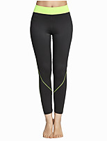 Pantalon de yoga Collants Respirable Doux Confortable Haut Extensible Vêtements de sport Femme Yoga Exercice & Fitness Sport de détente