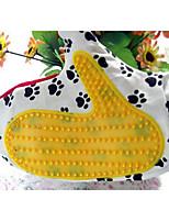 Кошка Собака Чистка Ванночки Животные Товары для ухода за животными Водонепроницаемость Цвет отправляется в случайном порядке