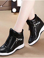 Women's Boots Spring Comfort PU Casual