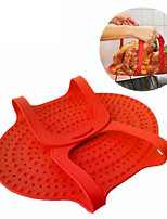 1Pcs  Silicone Turkey Lifter Heat Resistant Non-Stick Oven Meat Roast Barbeque Mat