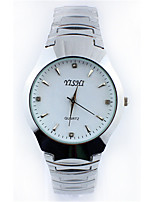 Women's Fashion Watch Quartz Stainless Steel Band Black White