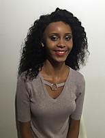 Maysu prévaut noir long perruque bouclés avant perruque synthétique éthérée 26 pouces enchanteur femme cheveux