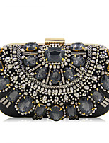 L.WEST Woman Fashion Luxury High-grade Handmade Beaded Evening Bag