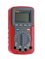 Jetech profissional carro ferramentas de diagnóstico tester multímetro digital vermelho dm-c