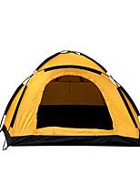 2 personnes Tente Unique Tente pliable Une pièce Tente de camping <1000mm Oxford Fibre de verreGarder au chaud Résistant à l'humidité