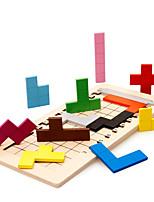 Blocs de Construction Puzzles en bois Pour cadeau Blocs de Construction Jeux & Casse-tête Carré 2 à 4 ans 5 à 7 ans 8 à 13 ans Jouets