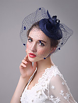 Flax Net Headpiece-Wedding Special Occasion Fascinators Birdcage Veils 1 Piece