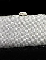 Для женщин Полиуретан Для торжеств и мероприятий Для праздника / вечеринки Для свадьбы Вечерняя сумочка Серебряный