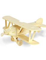 Jigsaw Puzzles 3D Puzzles Building Blocks DIY Toys Aircraft Wood Model & Building Toy