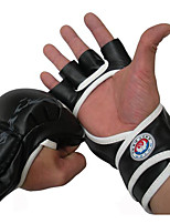 Exercise Gloves Boxing Training Gloves for Boxing Leisure Sports Fitness Muay Thai Full-finger Gloves Wicking Protective Stretchy PU