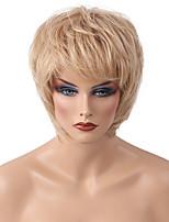 Diy neue Art helles mittleres langes Haar Menschenhaarperückefrauenhaar