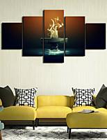 Art Print Still Life Modern,Five Panels Horizontal Print Wall Decor For Home Decoration