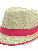 British Jazz Cap Bucket Hat Grid Straw Hat Man Spring and Summer Travel Soft Sun Hat Casual Foldable Brimmed Beach Hats