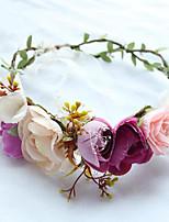 Proutěné zboží Látka Přílba-Svatba Zvláštní příležitost Neformální Outdoor Klobouky Jeden díl