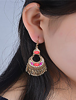 Dangle Earrings Jewelry Euramerican Fashion Bohemian Personalized Alloy Drop Gold Jewelry For Daily Casual Outdoor 1 pair
