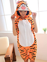 kigurumi Pyjamas Tiger Collant/Combinaison Fête / Célébration Pyjamas Animale Halloween Mosaïque Kigurumi Pour Unisexe Carnaval
