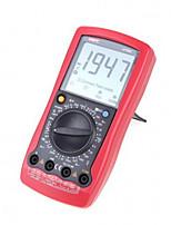 Multímetro digital padrão ac dc voltímetro resistência novo handheld padrão dmm uni-t ut58c