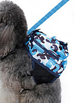 Dog Backpack Dog Clothes Winter Summer Spring/Fall CamouflageCute Sports Classic Fashion Casual/Daily Birthday Holiday Wedding Reversible