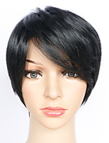 Cosplay Wigs Black Short Anime Cosplay Wigs 24 CM Heat Resistant Fiber Female