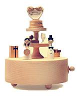Spieluhr Kreisförmig Freizeit Hobbys Holz keine Angaben
