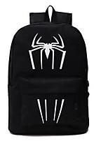 Men Sports & Leisure Bag Canvas All Seasons Sports Outdoor Professioanl Use Camping & Hiking Climbing Zipper Black