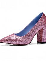 Femme-Habillé Décontracté Soirée & Evénement--Gros Talon-Confort-Chaussures à Talons-Similicuir