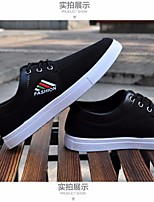 Men's Sneakers Spring Comfort PU Casual Black Dark Blue