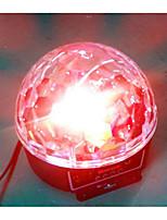 Luces LED Para Escenarios Bola mágica de la luz del LED Party Disco Club DJ Mostrar Lumiere LED Cristal Luz Proyector láser 18W - 50-60 -