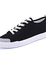 Men's Shoes Canvas Outdoor / Athletic / Casual Sneaker Flat Heel Chuck Taylor All Star Core Black Yellow Blue