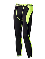 Homens Corrida Calças Meia-calça Respirável Macio Confortável Primavera Verão Outono InvernoIoga Acampar e Caminhar Natação Esportes
